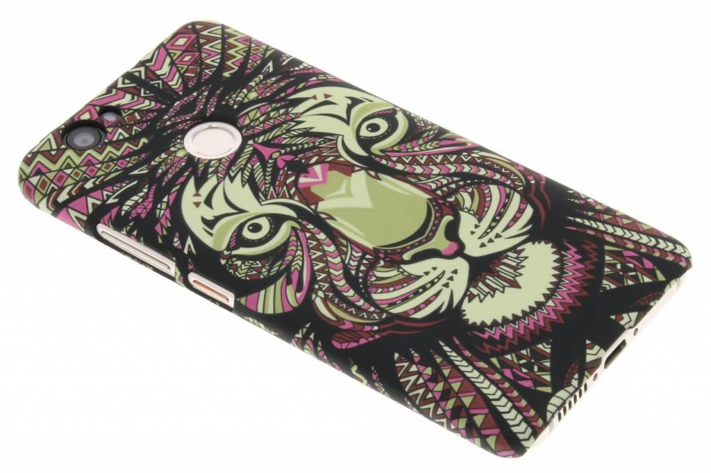 Tijger aztec animal design hardcase hoesje voor de Huawei Nova