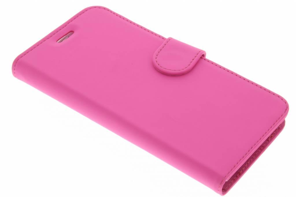 Accezz Wallet TPU Booklet voor de Samsung Galaxy S7 Edge - Roze