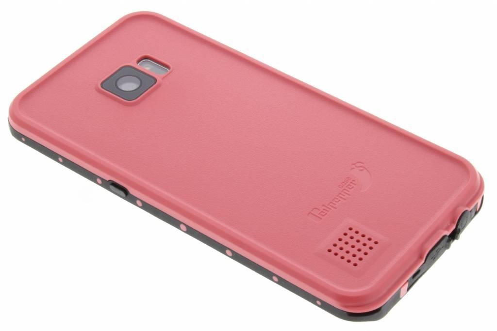 Redpepper Dot Waterproof Case voor de Samsung Galaxy S7 Edge - Roze