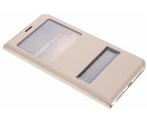 Luxe slim booktype hoes met venster Huawei Mate 9