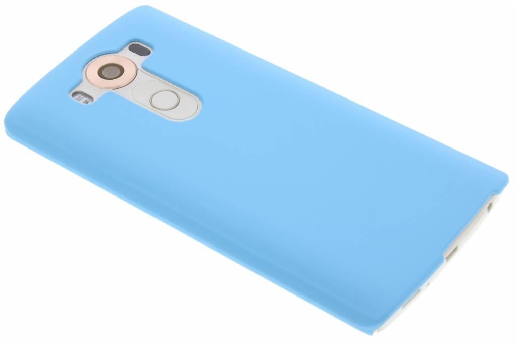 Turquoise effen hardcase hoesje voor de LG V10