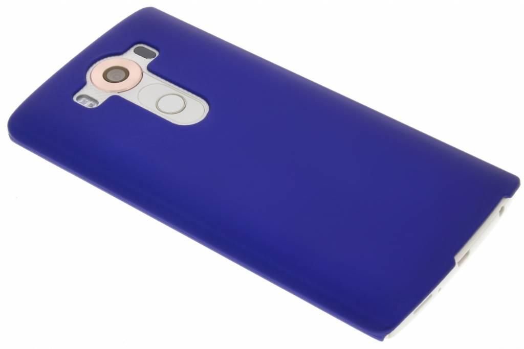 Blauw effen hardcase hoesje voor de LG V10