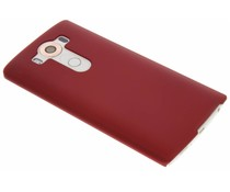 Rood effen hardcase hoesje LG V10