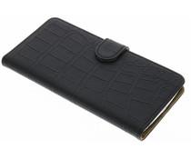 Zwart krokodil booktype hoes LG V10
