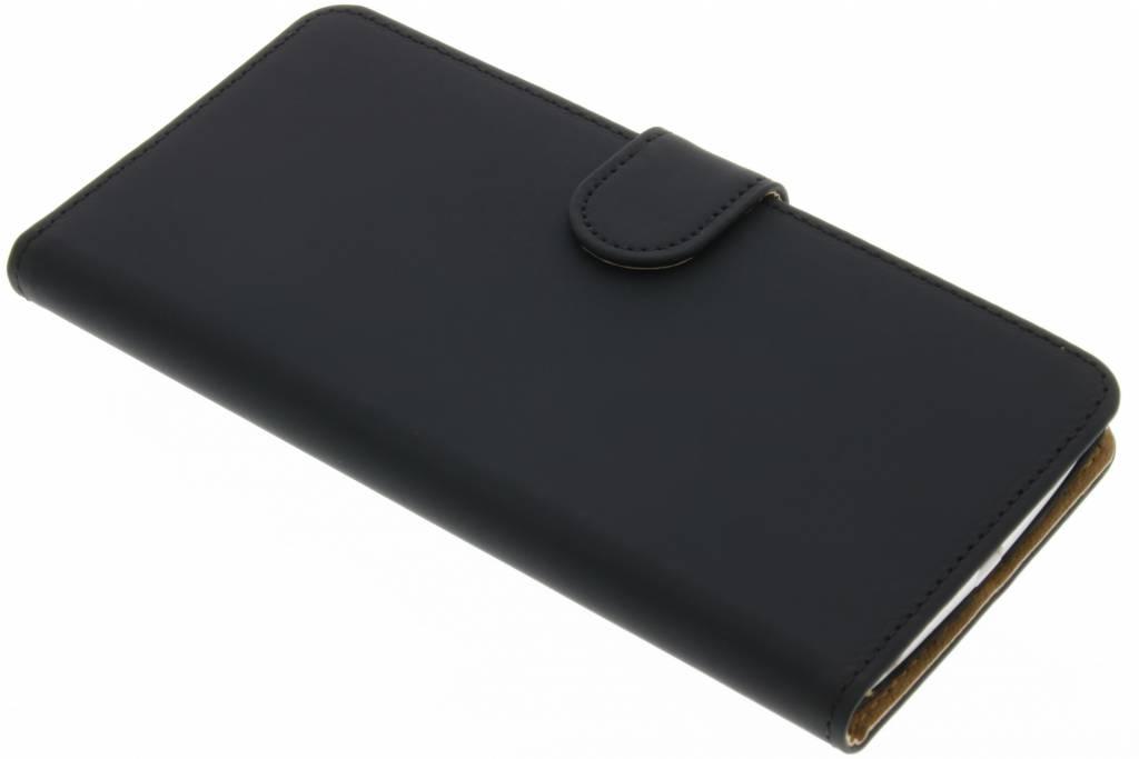 Zwarte effen booktype hoes voor de LG V10