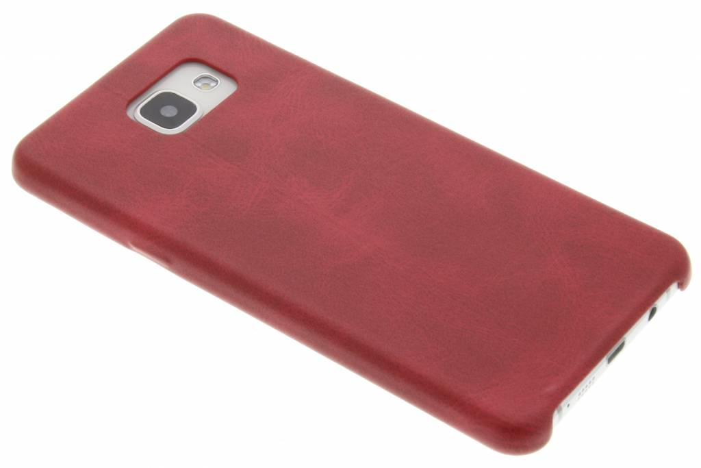 Rode TPU Leather Case voor de Samsung Galaxy A5 (2016)