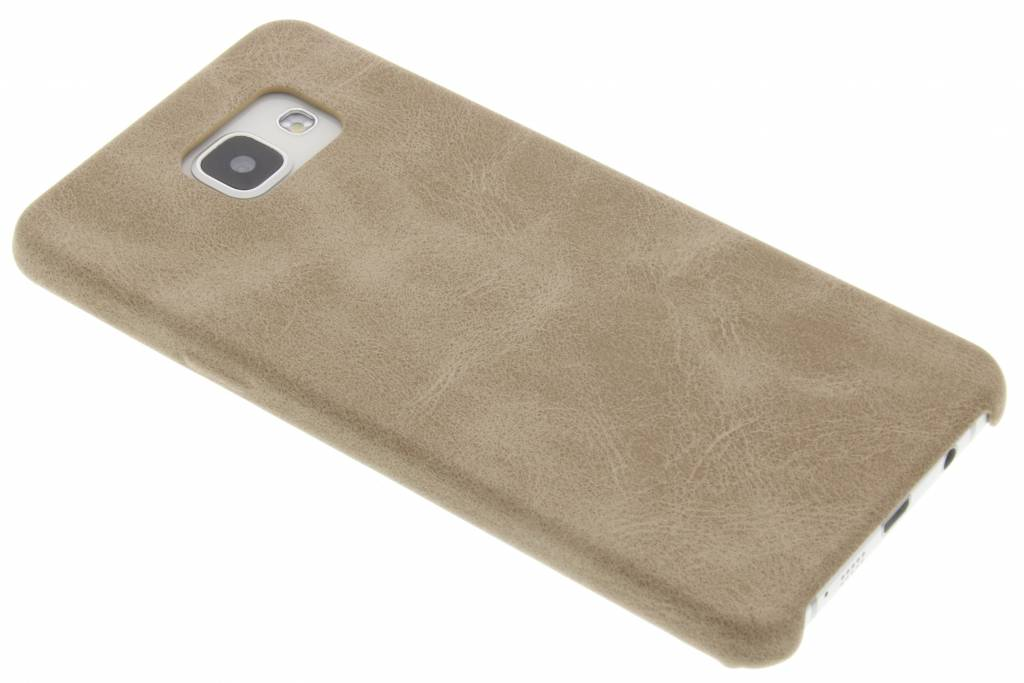 Beige TPU Leather Case voor de Samsung Galaxy A5 (2016)
