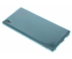 Turquoise transparant gel case Sony Xperia XA Ultra