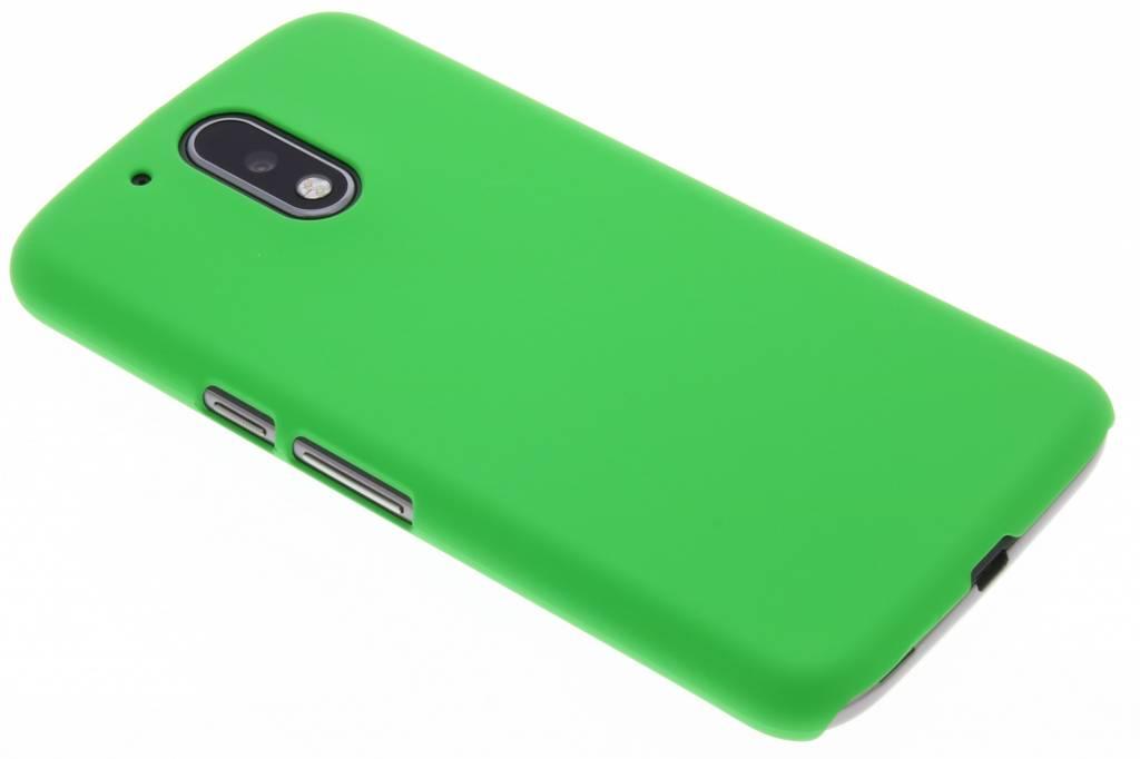 Groen effen hardcase hoesje voor de Motorola Moto G4 (Plus)