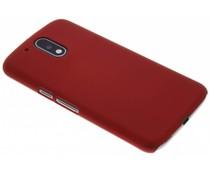 Effen hardcase hoesje Motorola Moto G4 (Plus)