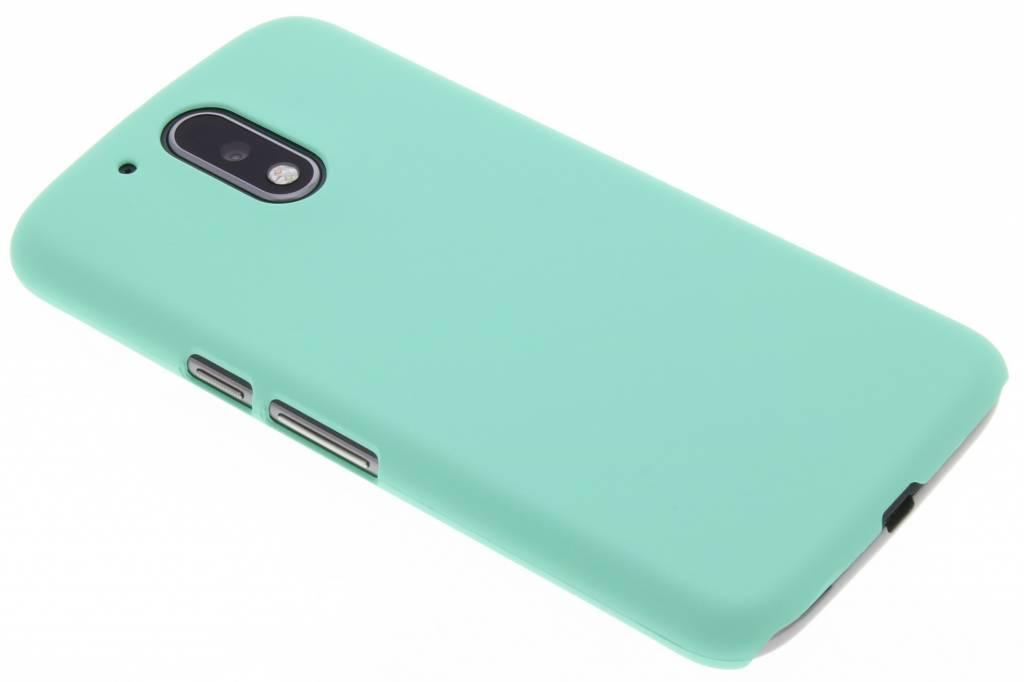 Mintgroen pastel hardcase hoesje voor de Motorola Moto G4 (Plus)