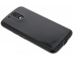Zwart gel case Motorola Moto G4 (Plus)