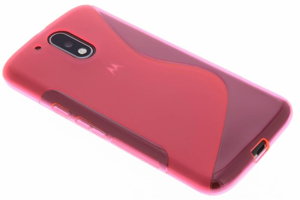 Rosé S-Line TPU hoesje voor de Motorola Moto G4 (Plus)