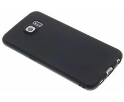Zwart Color TPU hoesje Samsung Galaxy S6