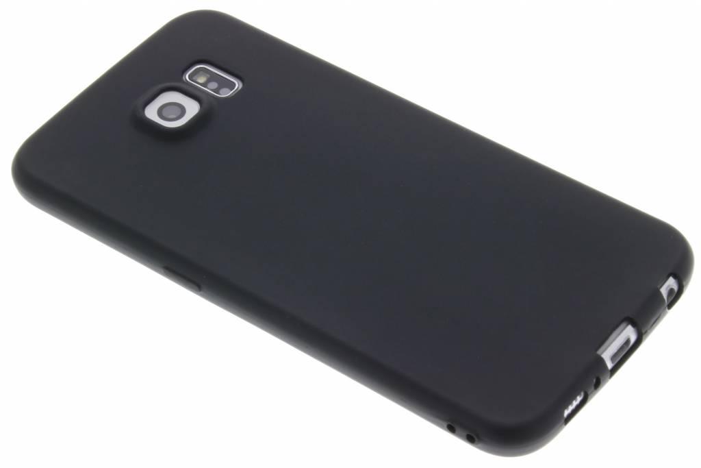 Zwart Color TPU hoesje voor de Samsung Galaxy S6