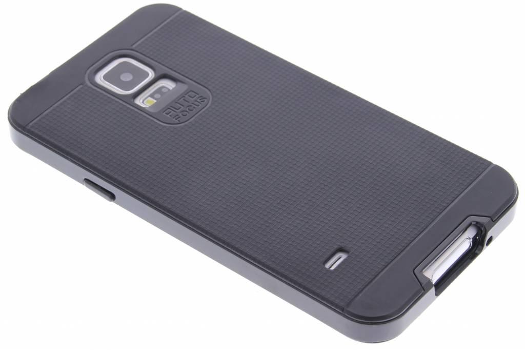 Zwarte TPU Protect case voor de Samsung Galaxy S5 (Plus) / Neo