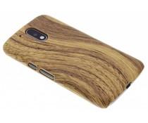 Hout design hardcase hoesje Motorola Moto G4 (Plus)
