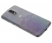 Mandala design TPU hoesje Motorola Moto G4 (Plus)