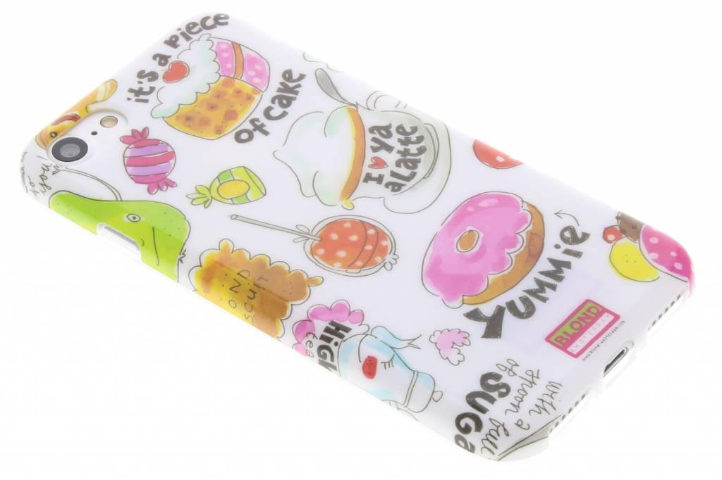 Blond Amsterdam Piece of cake softcase voor de iPhone 8 / 7