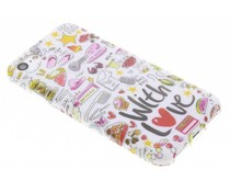 Blond Amsterdam With love softcase iPhone 7