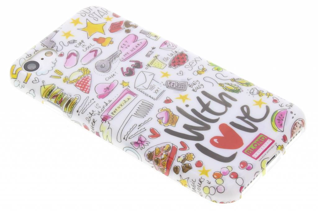 Blond Amsterdam With love softcase voor de iPhone 8 / 7