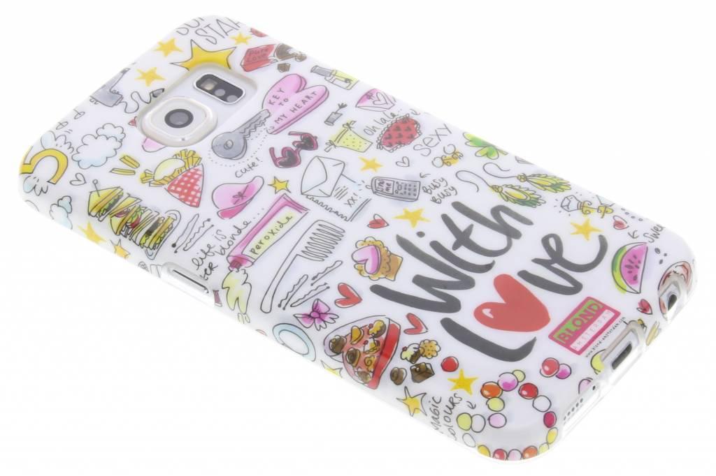 Blond Amsterdam With Love Softcase voor de Samsung Galaxy S6
