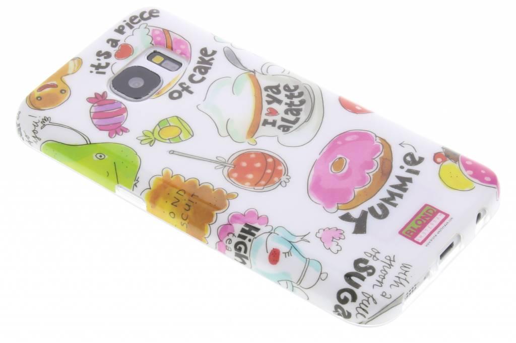 Blond Amsterdam A Piece Of Cake Softcase voor de Samsung Galaxy S7