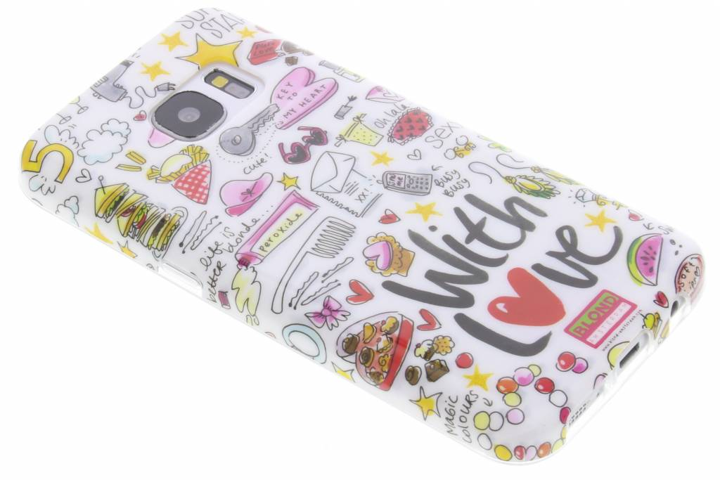Blond Amsterdam With Love Softcase voor de Samsung Galaxy S7