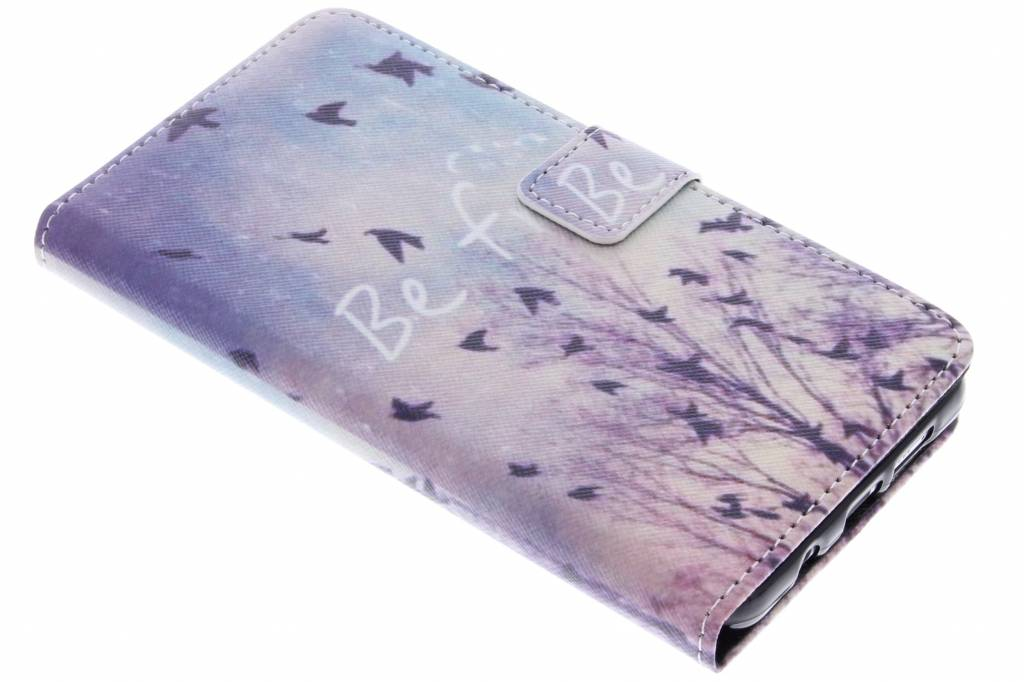 Be free design TPU booktype hoes voor de Samsung Galaxy A5 (2016)