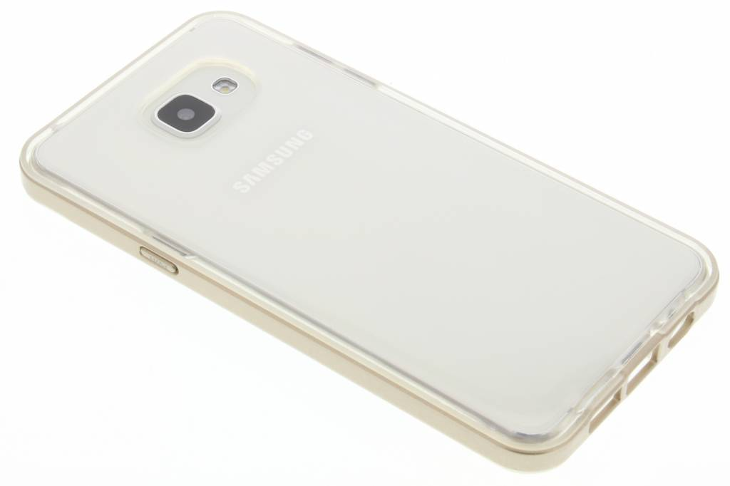Gouden bumper TPU case voor de Samsung Galaxy A5 (2016)