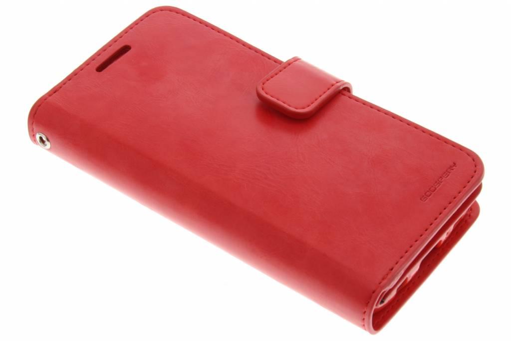 Mercury Goospery Mansoor Wallet Diary Case voor de Samsung Galaxy S7 - Rood