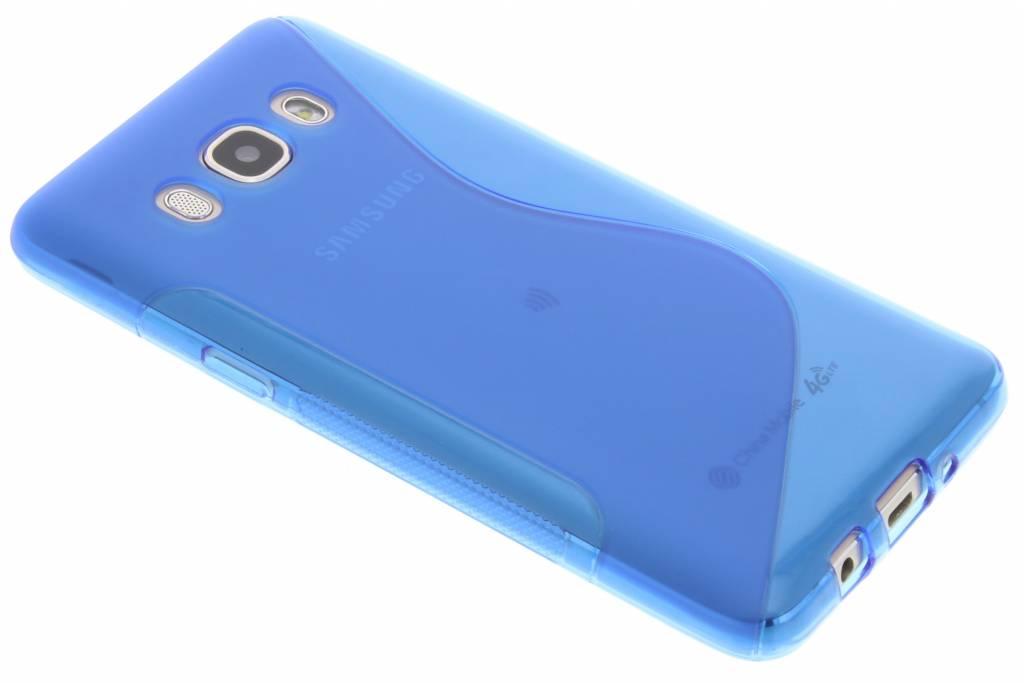 Blauw S-line TPU hoesje voor de Samsung Galaxy J5 (2016)