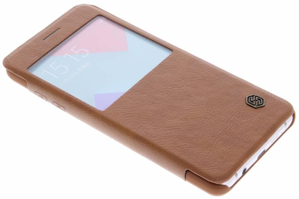 Nillkin Qin Leather Case met venster Samsung Galaxy A5 (2016) - Brown