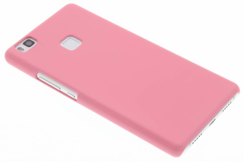 Roze effen hardcase hoesje voor de Huawei P9 Lite