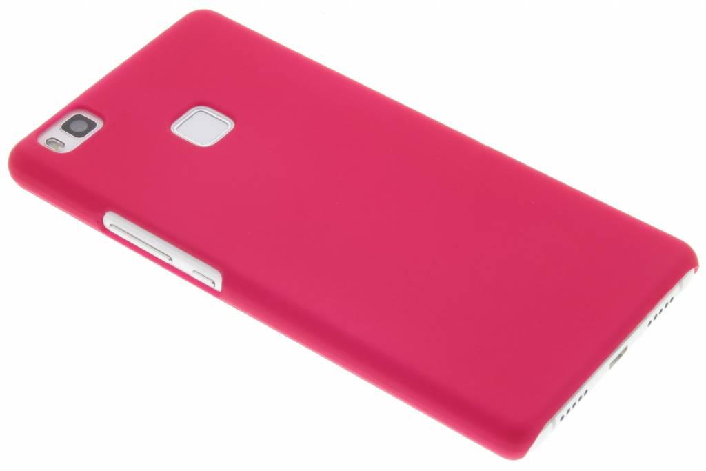 Fuchsia effen hardcase hoesje voor de Huawei P9 Lite