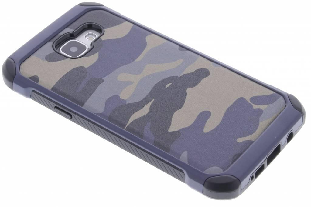 Blauw army defender hardcase hoesje voor de Samsung Galaxy A5 (2016)