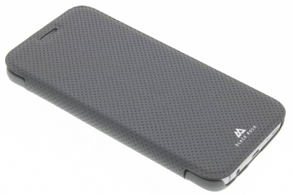 Black Rock Material Mesh Booklet Case voor de Samsung Galaxy S7 - Grijs