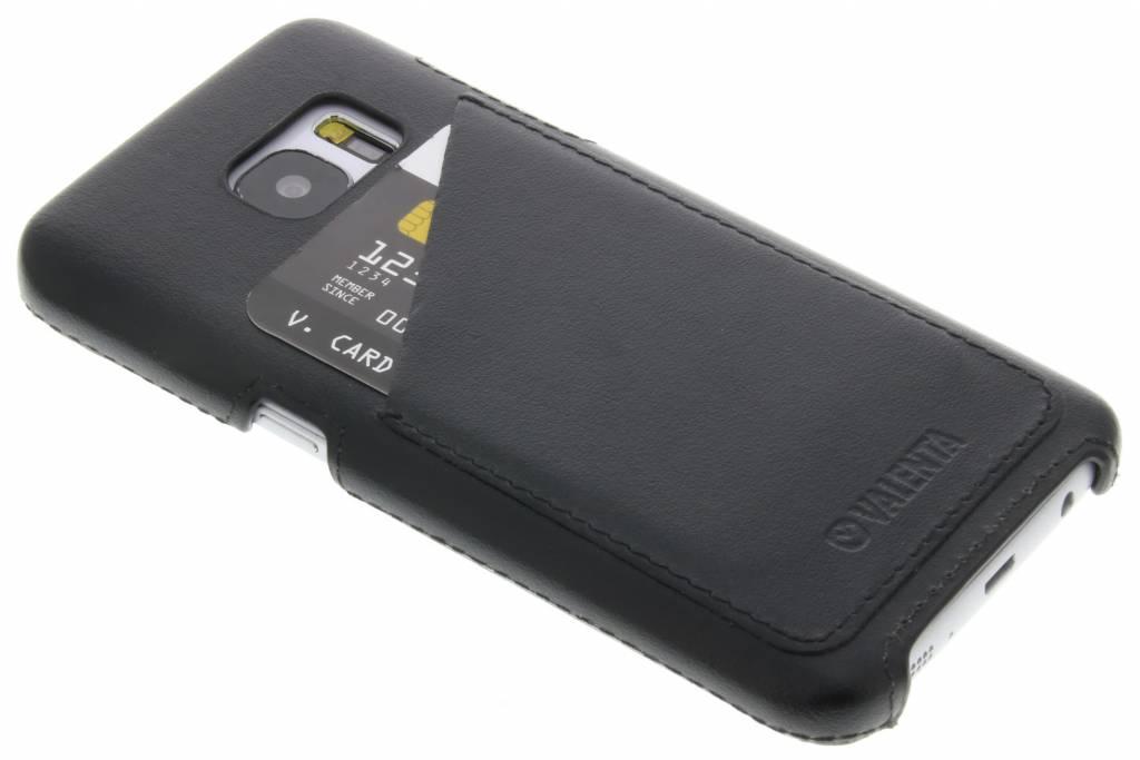 Valenta Back Cover Classic Luxe voor de Samsung Galaxy S7 - Zwart
