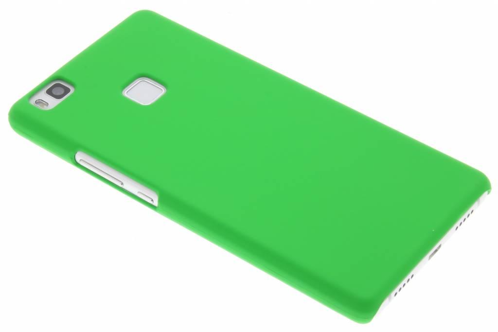 Groen effen hardcase hoesje voor de Huawei P9 Lite