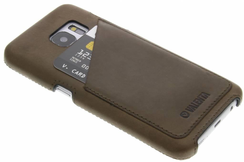 Valenta Back Cover Classic Luxe voor de Samsung Galaxy S7 - Vintage bruin