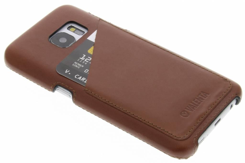 Valenta Back Cover Classic Luxe voor de Samsung Galaxy S7 - Bruin