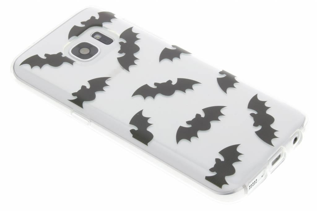 Halloween design vleermuizen TPU hoesje voor de Samsung Galaxy S7