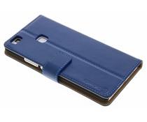 Selencia Luxe lederen booktype Huawei P9 Lite - Blauw