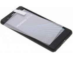 Zwart 360° effen protect case Huawei P9 Lite