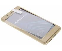 Goud 360° effen protect case Huawei P9 Lite