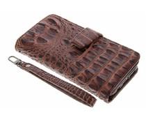 Bruin Krokodil Wallet Case Samsung Galaxy S7
