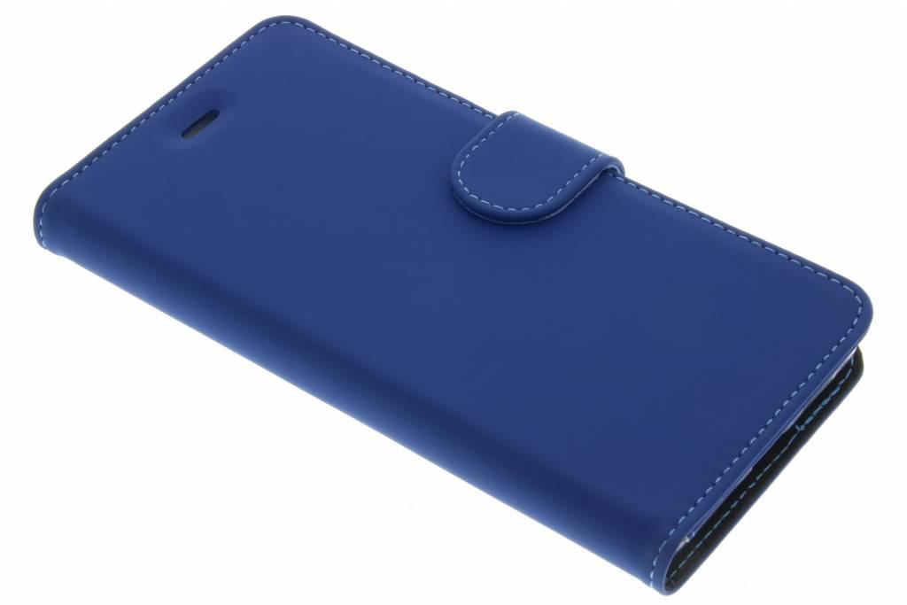 Accezz Blauwe Wallet TPU Booklet voor de Huawei P9 Lite
