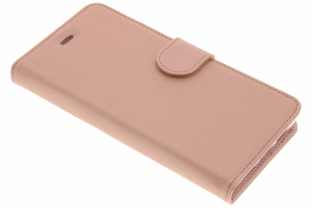 Accezz Rose Gouden Wallet TPU Booklet voor de Huawei P9 Lite