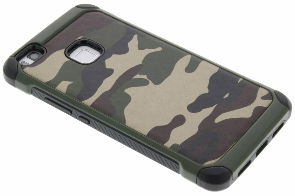 Groen army defender hardcase hoesje voor de Huawei P9 Lite