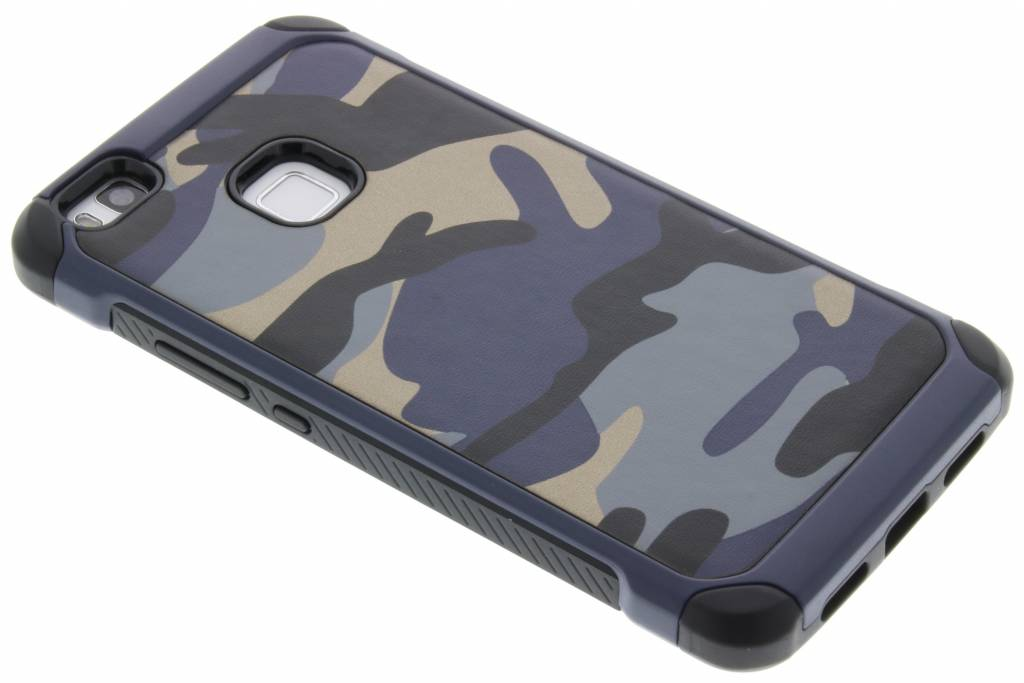 Blauw army defender hardcase hoesje voor de Huawei P9 Lite